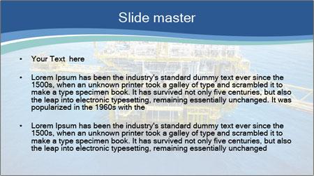 Oil refinery PowerPoint Template - Slide 2