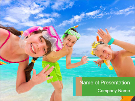 Kids PowerPoint Template