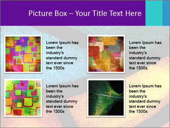 Detail of a back PowerPoint Templates - Slide 14