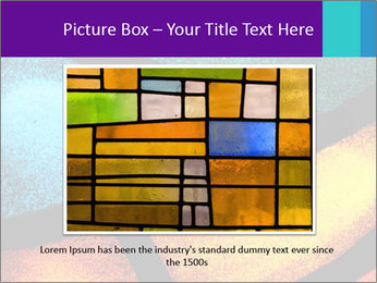 Detail of a back PowerPoint Templates - Slide 15