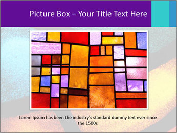 Detail of a back PowerPoint Templates - Slide 16