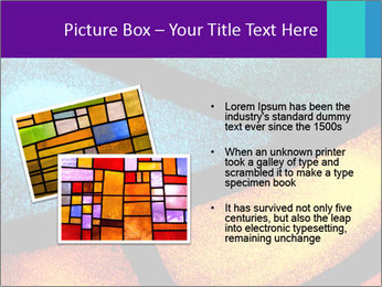 Detail of a back PowerPoint Templates - Slide 20