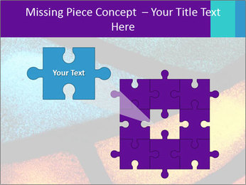 Detail of a back PowerPoint Templates - Slide 45