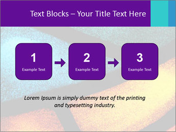Detail of a back PowerPoint Templates - Slide 71