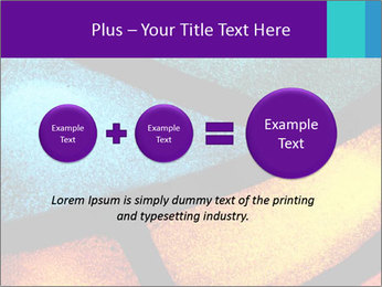 Detail of a back PowerPoint Templates - Slide 75