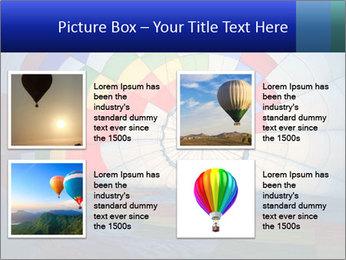 Hot air balloon PowerPoint Template - Slide 14