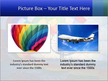 Hot air balloon PowerPoint Template - Slide 18