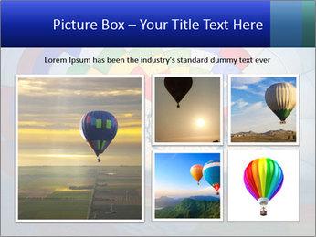Hot air balloon PowerPoint Template - Slide 19