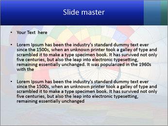 Hot air balloon PowerPoint Template - Slide 2