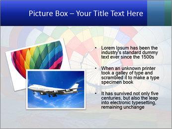 Hot air balloon PowerPoint Template - Slide 20