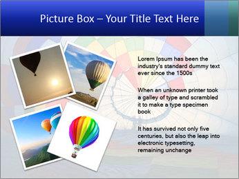 Hot air balloon PowerPoint Template - Slide 23