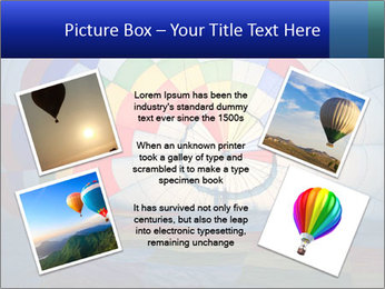 Hot air balloon PowerPoint Template - Slide 24