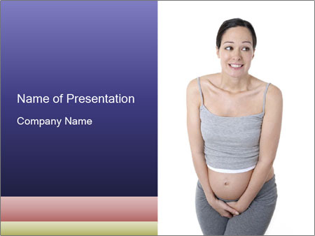 Pregnant PowerPoint Template