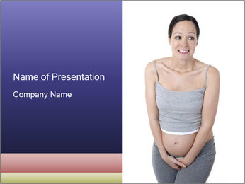 Pregnant PowerPoint Template - Slide 1