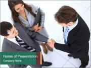 Business handshake PowerPoint Templates