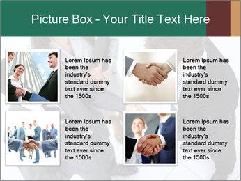Business handshake PowerPoint Template - Slide 14