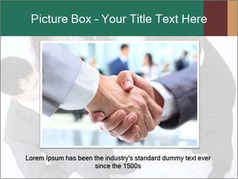 Business handshake PowerPoint Template - Slide 16