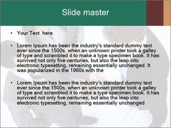 Business handshake PowerPoint Template - Slide 2