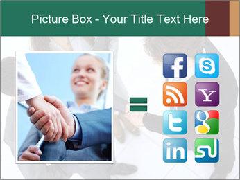 Business handshake PowerPoint Template - Slide 21
