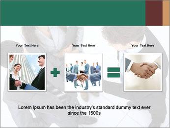 Business handshake PowerPoint Template - Slide 22