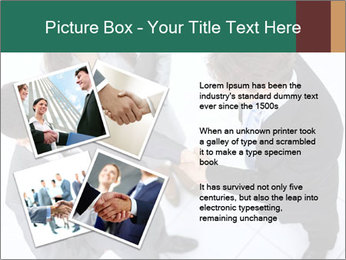 Business handshake PowerPoint Template - Slide 23