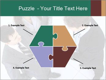Business handshake PowerPoint Template - Slide 40