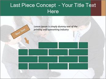 Business handshake PowerPoint Template - Slide 46
