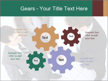 Business handshake PowerPoint Template - Slide 47