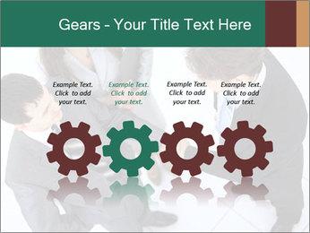 Business handshake PowerPoint Template - Slide 48