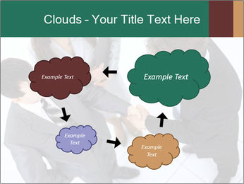 Business handshake PowerPoint Template - Slide 72