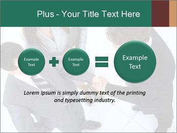 Business handshake PowerPoint Template - Slide 75