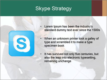 Business handshake PowerPoint Template - Slide 8