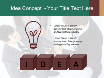Business handshake PowerPoint Template - Slide 80