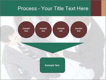 Business handshake PowerPoint Template - Slide 93