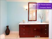 Beautiful bathroom PowerPoint Templates