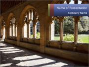 Oxford University PowerPoint Template