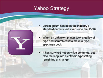 Luxury Yacht Docked PowerPoint Template - Slide 11