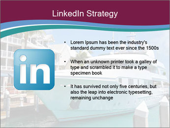 Luxury Yacht Docked PowerPoint Template - Slide 12