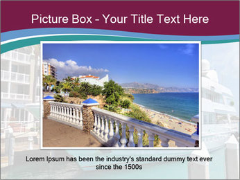 Luxury Yacht Docked PowerPoint Template - Slide 15