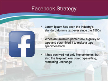 Luxury Yacht Docked PowerPoint Template - Slide 6