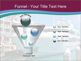 Luxury Yacht Docked PowerPoint Template - Slide 63