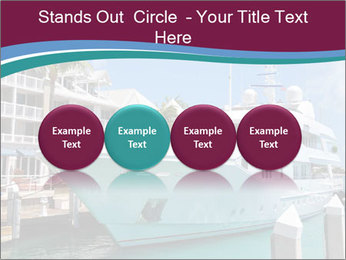 Luxury Yacht Docked PowerPoint Template - Slide 76