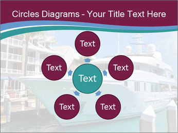Luxury Yacht Docked PowerPoint Template - Slide 78