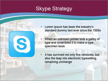 Luxury Yacht Docked PowerPoint Template - Slide 8