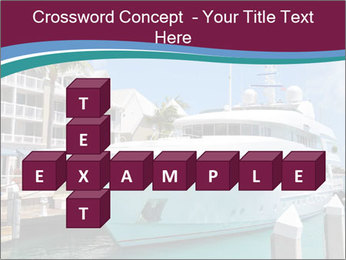Luxury Yacht Docked PowerPoint Template - Slide 82