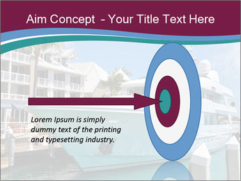 Luxury Yacht Docked PowerPoint Template - Slide 83