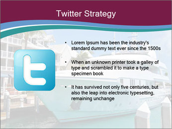 Luxury Yacht Docked PowerPoint Template - Slide 9
