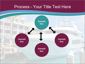 Luxury Yacht Docked PowerPoint Template - Slide 91
