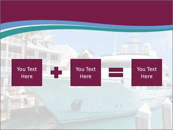 Luxury Yacht Docked PowerPoint Template - Slide 95