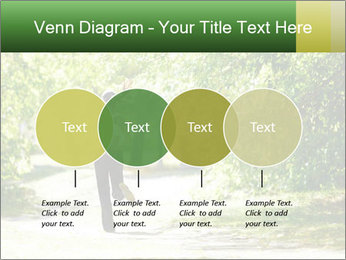 Park along trees PowerPoint Template - Slide 32